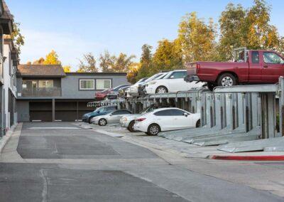Lift parking spaces