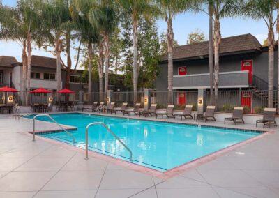 Resort Syle Pool at Park Plaza